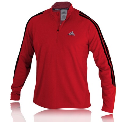 Adidas Response DS Long Sleeve 1/2 Zip Running Top picture 1