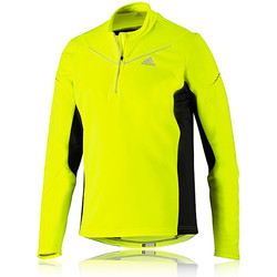 Adidas adiVIZ Half Zip Long Sleeve Running Top