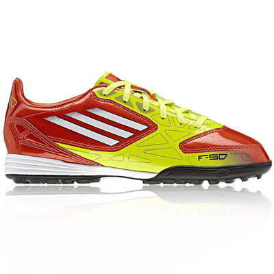 Adidas Junior F10 TRX Astro Turf Football Boots picture 1