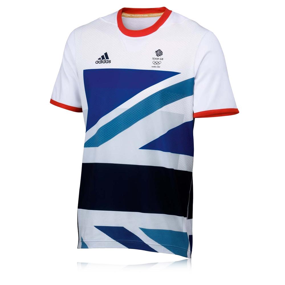 Adidas Team GB Tennis Short Sleeve T-Shirt