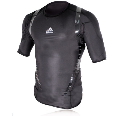 Adidas TechFit PowerWeb Compression Short Sleeve T-Shirt picture 1