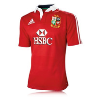 Adidas British and Irish Lions Replica Short Sleeve Top
