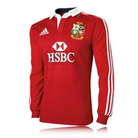 Adidas British and Irish Lions Replica Long Sleeve Top