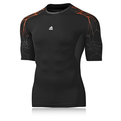 Adidas TechFit Preparation Seasonal Compression Short Sleeve T-Shirt