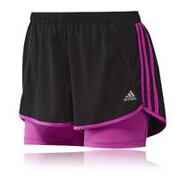 Adidas Response 2-in-1 Women's Running Shorts