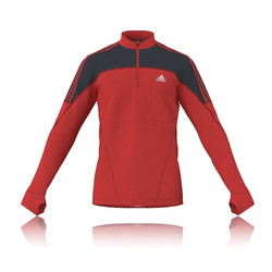 Adidas Response DS CLIMAWARM HalfZip Long Sleeve Running Top