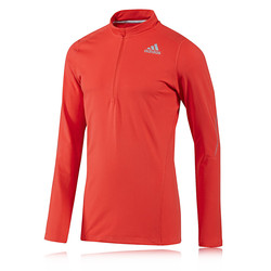 Adidas Sequence Half Zip Long Sleeve Running Top