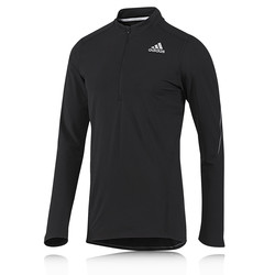 Adidas Sequencials Half Zip Long Sleeve Running Top