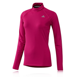 Adidas Sequentials Women&39s Half Zip Long Sleeve Running Top