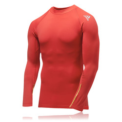 Adidas Hollow Mock Neck Long Sleeve Running Top