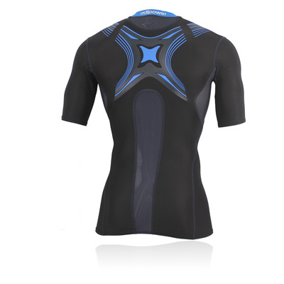 Adidas TechFit PowerWeb Short Sleeve Compression Running T-Shirt picture 2