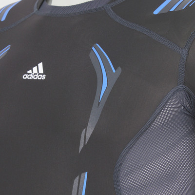 Adidas TechFit PowerWeb Short Sleeve Compression Running T-Shirt picture 3