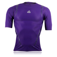Adidas TechFit PowerWeb Short Sleeve Compression T-Shirt