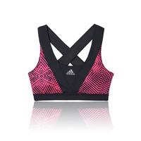 Adidas Lady Supernova Energy Graphic Racer-Back Running Bra