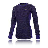 Adidas Techfit Climawarm Long Sleeve Women's Running Top