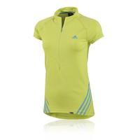 Adidas Terrex Women's Half Zip Short Sleeve Running Top