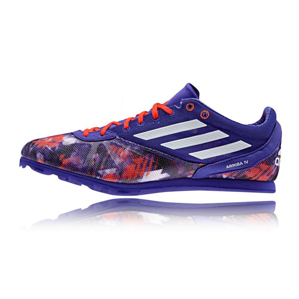 adidas arriba 4 mens blue orange running track