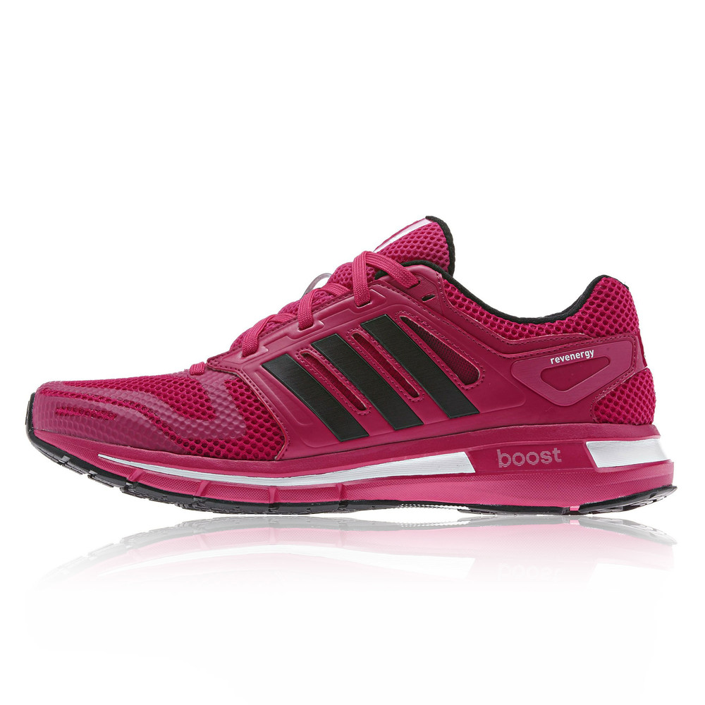 adidas revenergy mesh womens pink running cushion