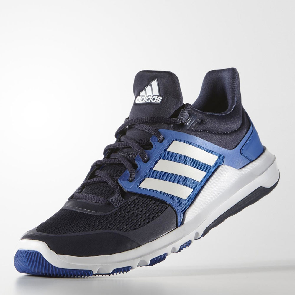 adidas Adipure 360.3 Mens Black Blue Training Sports Shoes