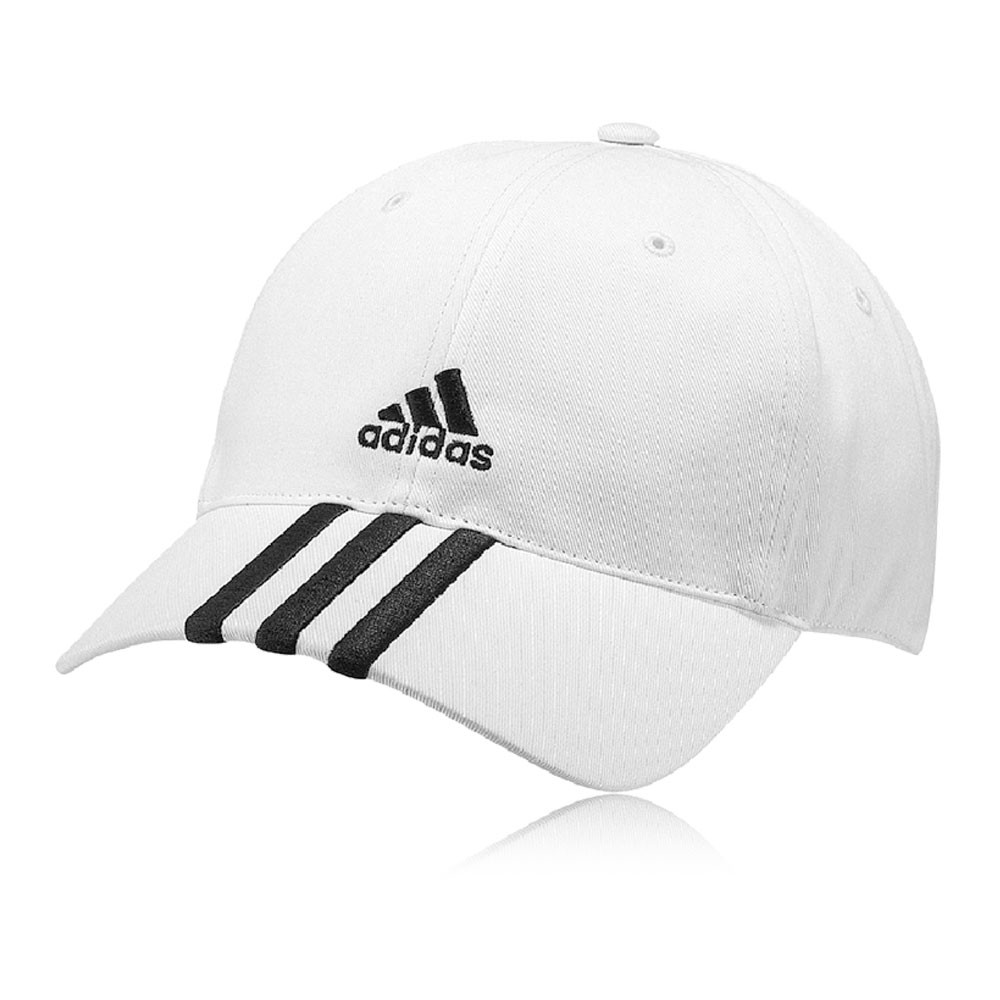 adidas essentials 3s herren damen schirmkappe baseball cap sport m tze wei ebay. Black Bedroom Furniture Sets. Home Design Ideas