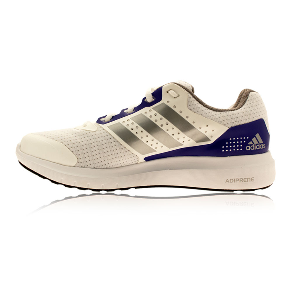 adidas duramo 7 womens white purple cushion running sport