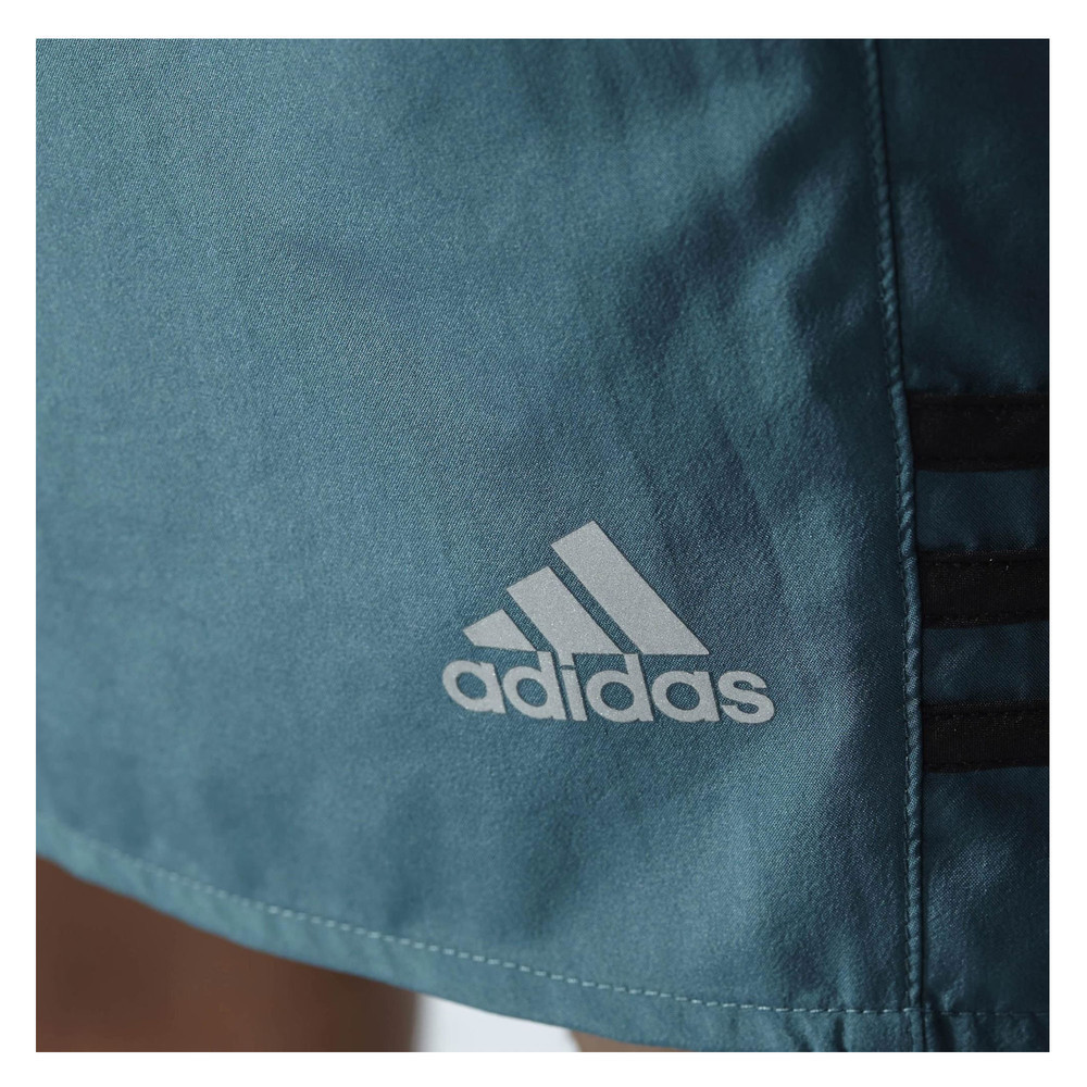 adidas response 5 inch mens blue climalite running shorts. Black Bedroom Furniture Sets. Home Design Ideas