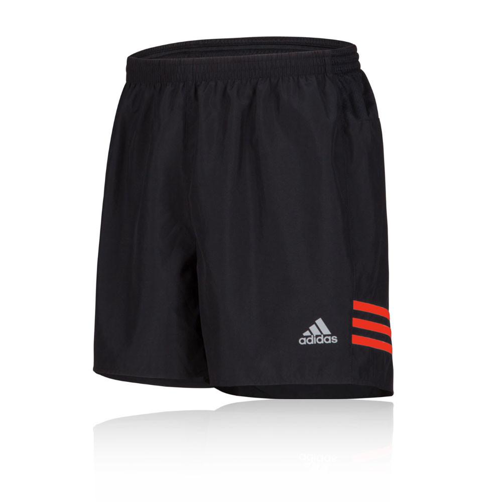 Adidas-Response-5-034-Mens-Black-Climalite-Running-Sports-Shorts-Pants-Bottoms