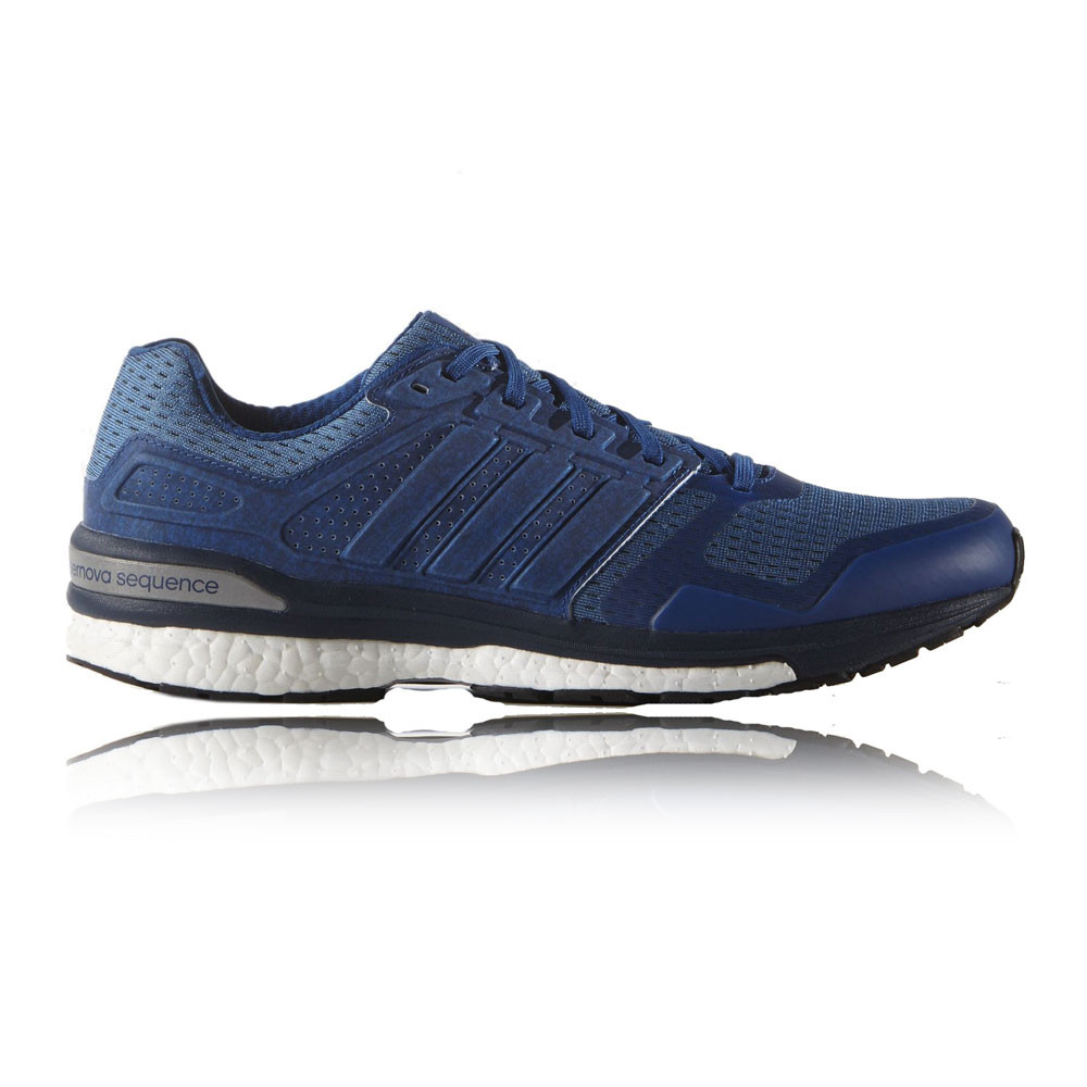 adidas supernova sequence boost 8 mens blue sneakers. Black Bedroom Furniture Sets. Home Design Ideas