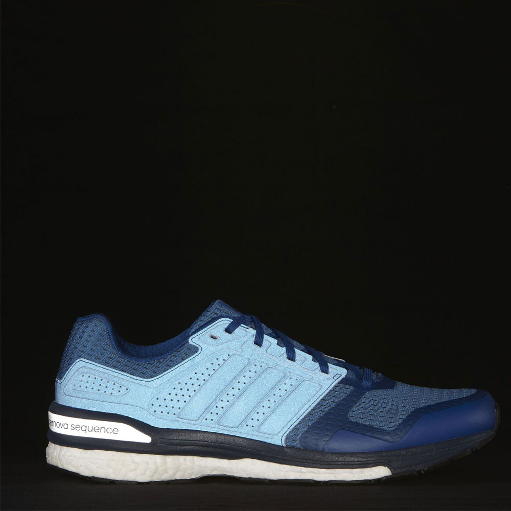 adidas supernova sequence boost 8 mens blue sneakers