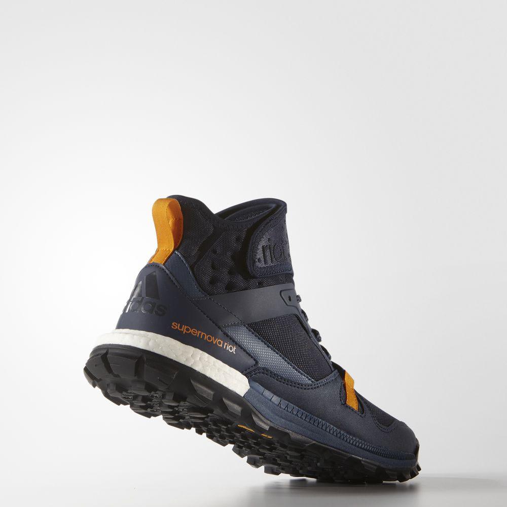 3e5c60894 Adidas For France Supernova Glide Running Shoes Men White Blue Famous Brand
