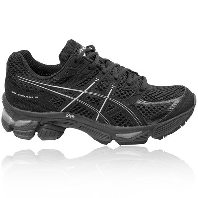 ASICS-GEL-CUMULUS-13-MENS-BLACK-CUSHIONED-ATHLETIC-RUNNING-SHOES-TRAINERS-NEW