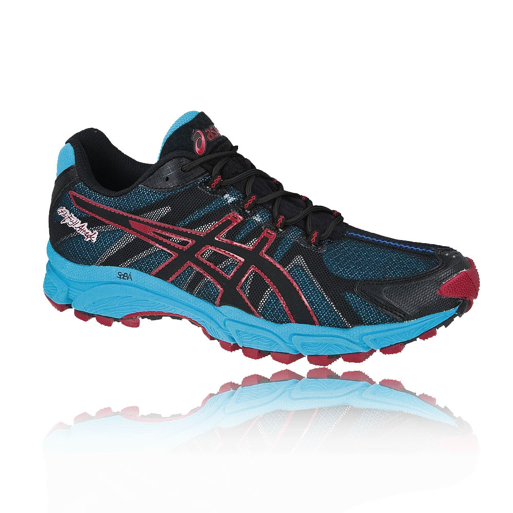 asics gel fuji attack trail running shoes 50