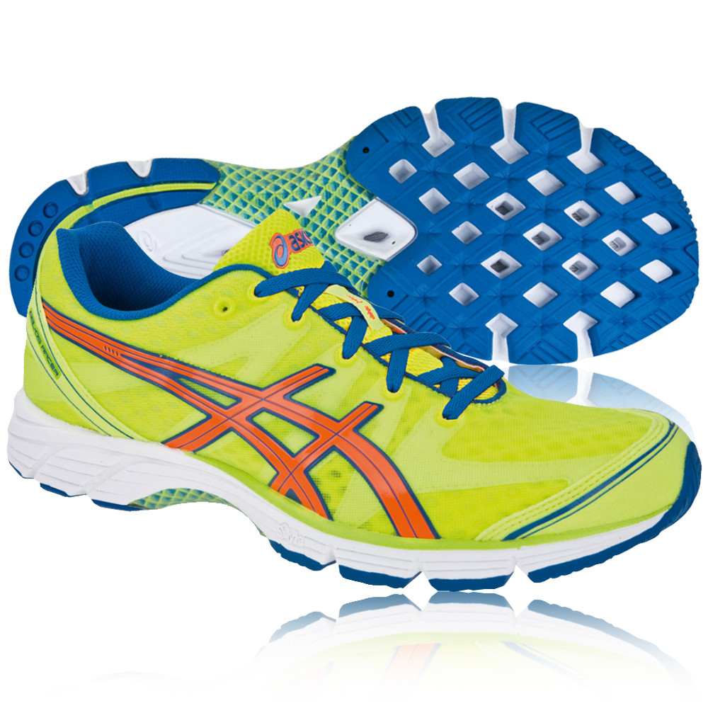 Asics Gel Ds Racer  Mens Shoes Blue Green White