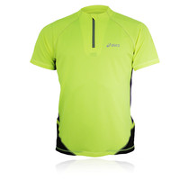 ASICS FUJI Half-Zip Short Sleeve T-Shirt
