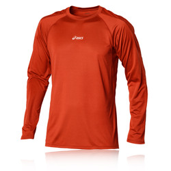 ASICS HERMES Crew Neck Long Sleeve Running Top