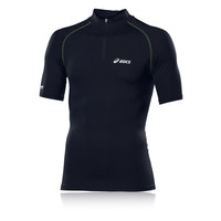 Asics IM Half Zip Short Sleeve Running T-Shirt