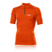 Asics IM Half Zip Short Sleeved Running T-Shirt