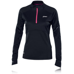 ASICS WINDBLOCK Women&39s Half Zip Long Sleeve Running Top