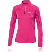 ASICS WINTER Women's Half-Zip Long Sleeve Running Top