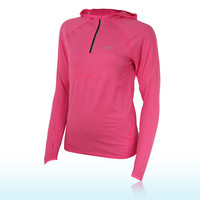 Asics Women's Half Zip Long Sleeve Hooded Top