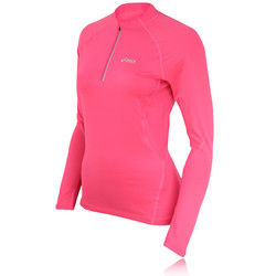 Asics Women&39s Half Zip Long Sleeve Running Top