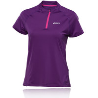 Asics Mile Women's Half Zip Short Sleeve Running T-Shirt