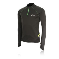 Asics Fuji Wind Block Half Zip Long Sleeve Running Top