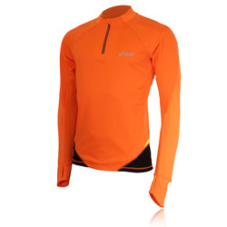 Asics Fuji Half Zip Long Sleeve Running Top