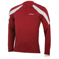 ASICS Volt Run Long Sleeve Half-Zip Running Top