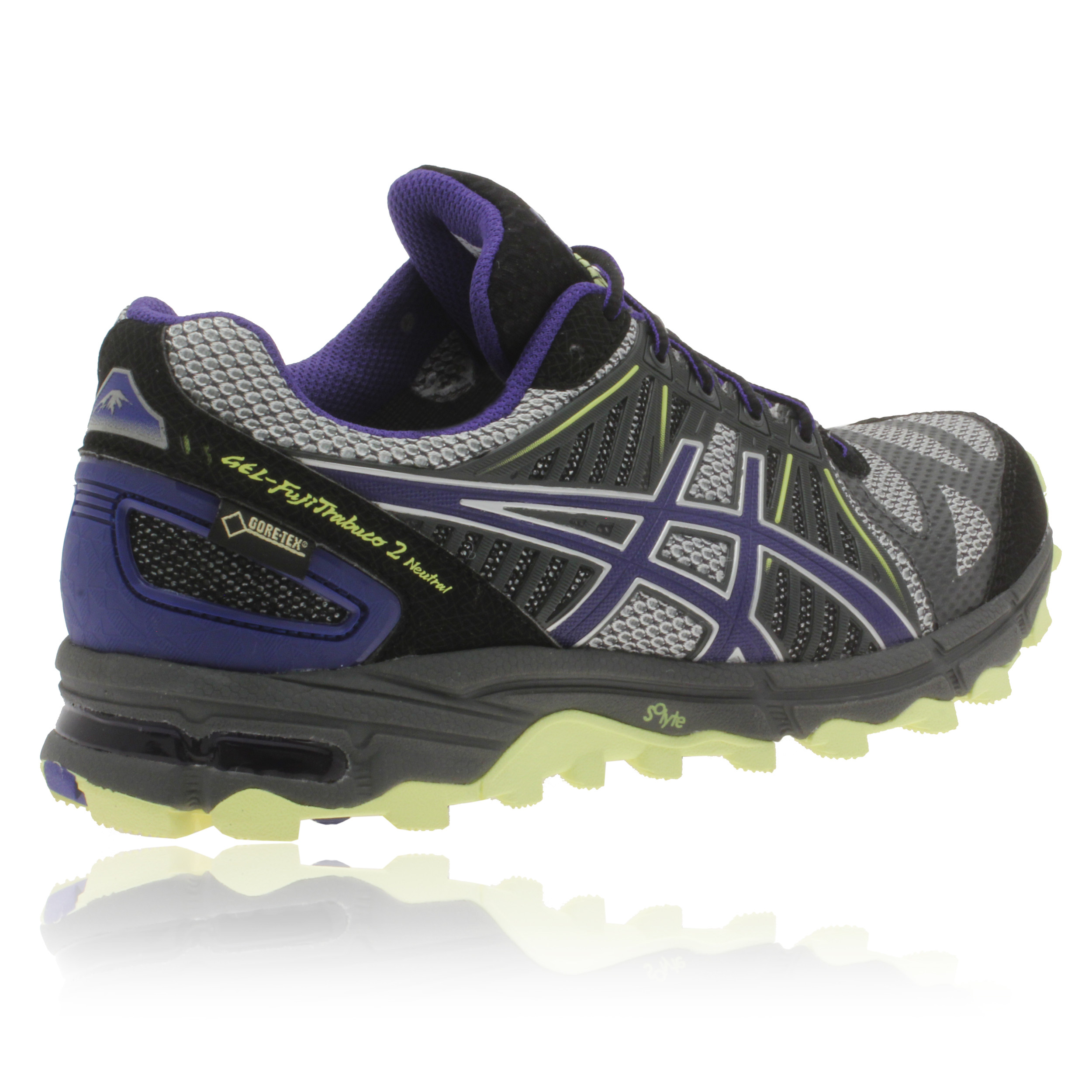 Asics Womens GEL-FUJI TRABUCO 2 Black Gore-Tex Waterproof