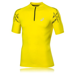 Asics Inner Muscle HalfZip Short Sleeve Running Top