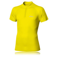 ASICS Half-Zip Short Sleeve Running T-Shirt