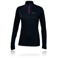 ASICS FUJI Women's Half-Zip Long Sleeve Running Top