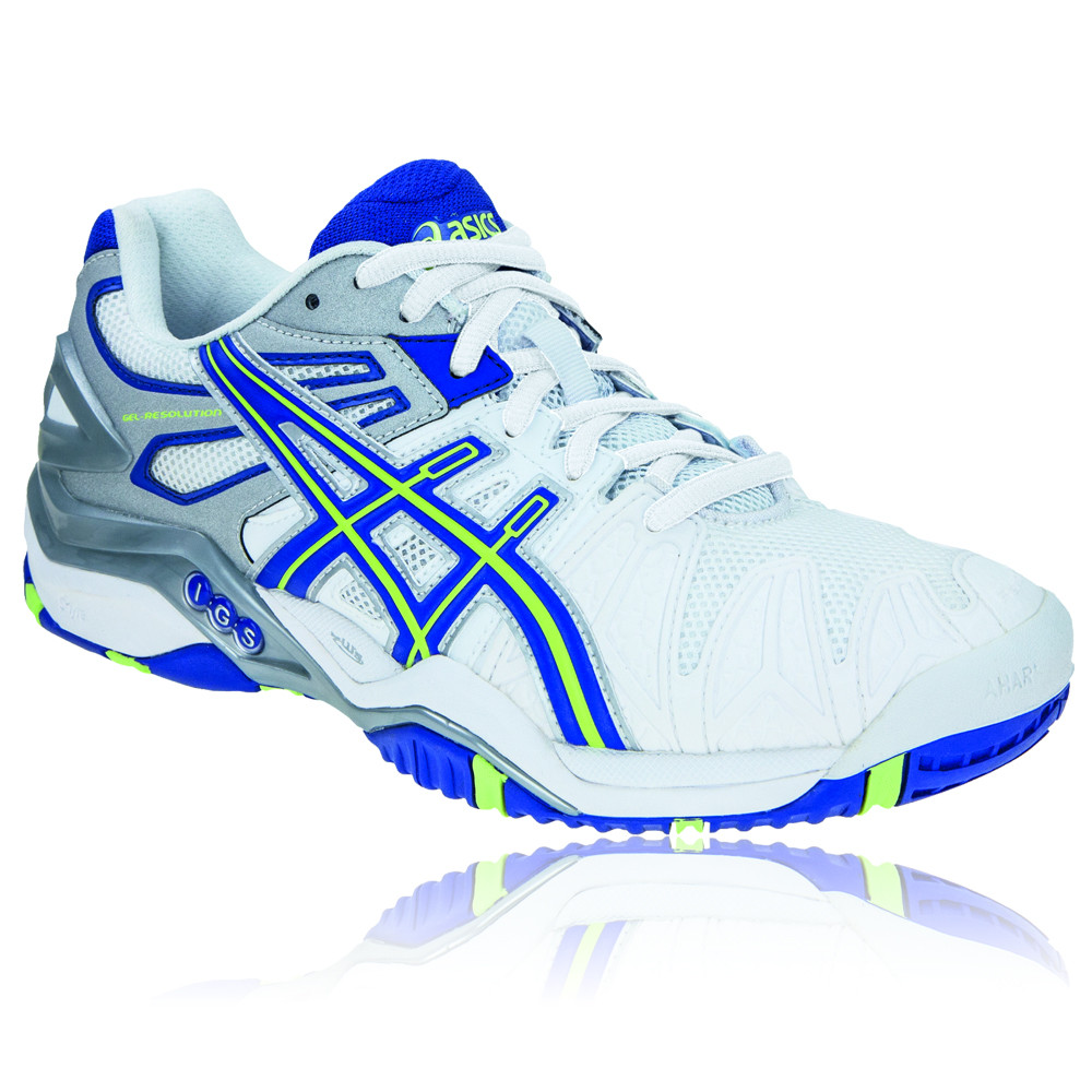 asics gel resolution 5 s tennis shoes 50